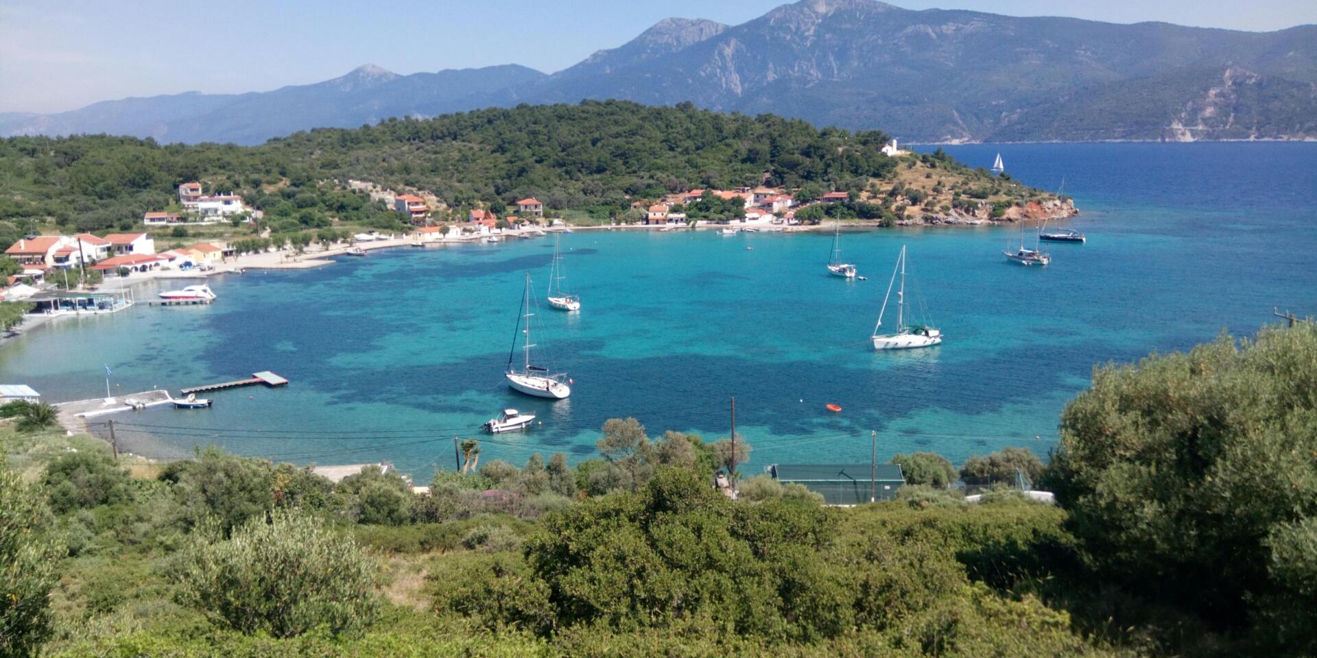 Poseidonio bay, Samos