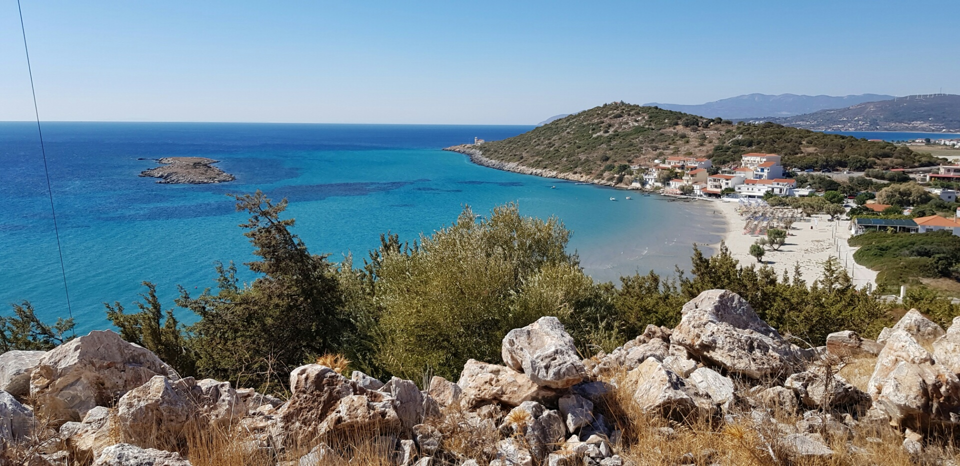 Psili Ammos, Samos