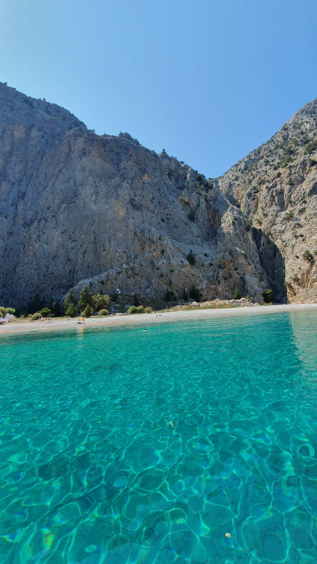 Saint George bay, Symi