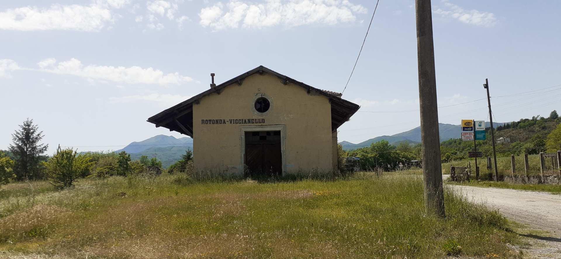 Rotonda ciclabile ex ferrovia Lagonegro-Spezzano Albanese